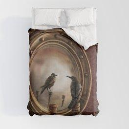 Brooke Figer - Reflection on Perception Comforters
