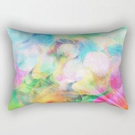 Spring Fractal Magic Rectangular Pillow