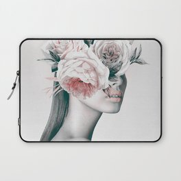 WOMAN WITH FLOWERS 11 Laptop Sleeve