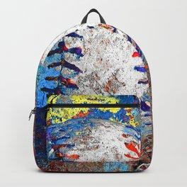 Baseball art print work 10 Backpack