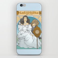 Labyrinthe iPhone & iPod Skin