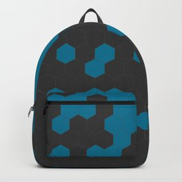 Hex Teal Backpack