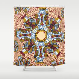 All the Kings Men Shower Curtain