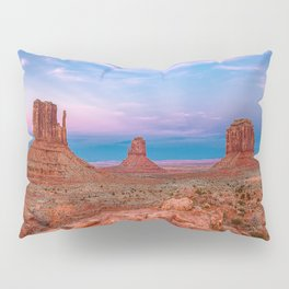 Westward Dreams - Sunset in Monument Valley Pillow Sham