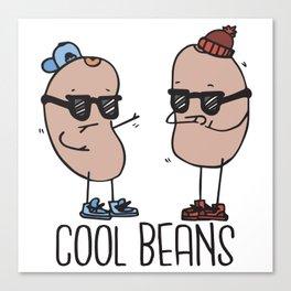 Cool Beans Canvas Print