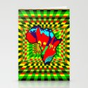 Colorful African Checkered Abstract Print by cynthiagailmanor