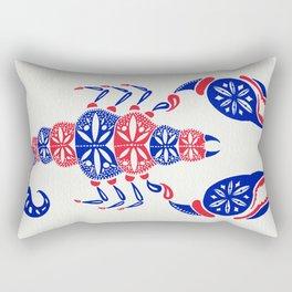 Patriotic Scorpion Rectangular Pillow