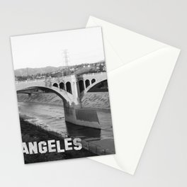 Los Angeles River Bridge Photoshot Stationery Cards