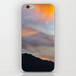 Mount San Jacinto Sunset Clouds iPhone Skin