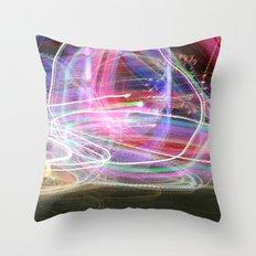 Carnival Lights Throw Pillow