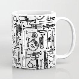 Horns B&W II Coffee Mug