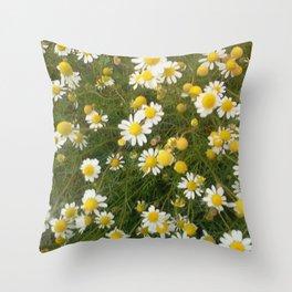 Manzanilla silvestre Throw Pillow