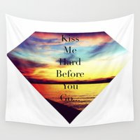 lana Wall Tapestries featuring Lana Summertime Sadness  by Dr.RPF