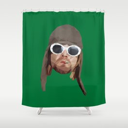 Cobain Shower Curtain