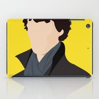 sherlock iPad Cases featuring Sherlock by Jessica Slater Design & Illustration