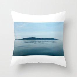 The Sleeping Giant Throw Pillow