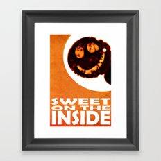 sweet on the inside Framed Art Print