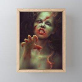 To Die For Framed Mini Art Print