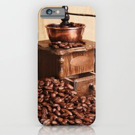 coffee grinder 2 iPhone Case
