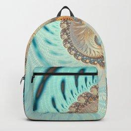 Vanilla Swirl - Fractal Art  Backpack