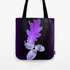 Acorn in Purle. Tote Bag