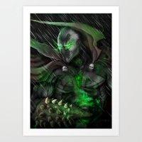 spawn Art Prints featuring Spawn by Nick Fernandez