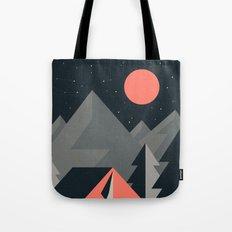 Retro Camping Tote Bag