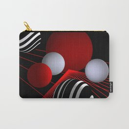 converging lines -3- Carry-All Pouch