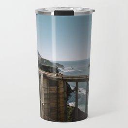 Bixby Bridge in Big Sur California Travel Mug