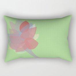 Fragile Flower Rectangular Pillow