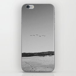 HALF MOON BAY IV (B+W) iPhone Skin