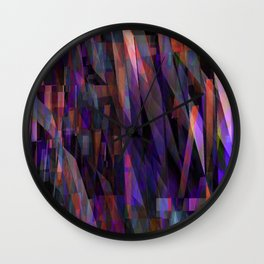 unsettled 3d Wall Clock