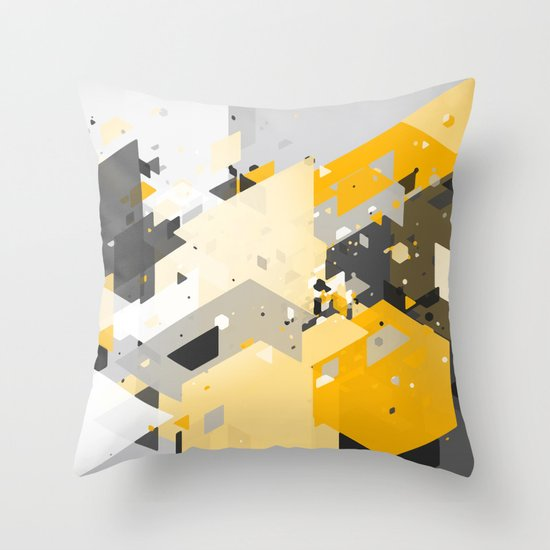 Scatter 5 Throw Pillow