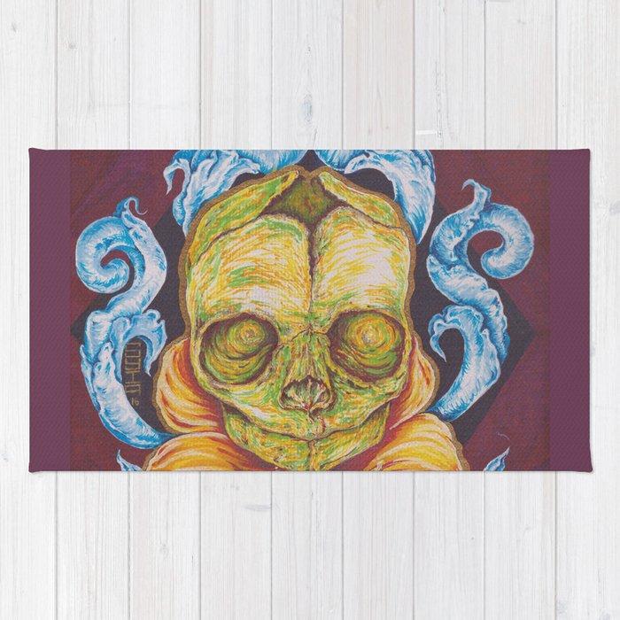 Fetal Skull Rug