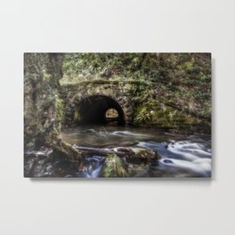 Blackpool Brook at Wenchford Metal Print