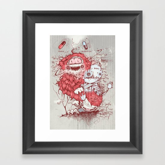 Dr Jekyll Framed Art Print