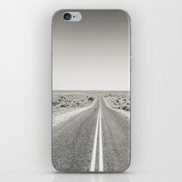 Long Straight High Way iPhone Skin