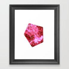 Querido Asteroide Framed Art Print