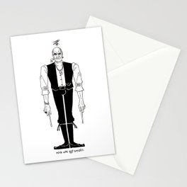 Mick was NOT amused (#1). Stationery Cards