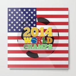 2014 World Champs Ball - USA Metal Print