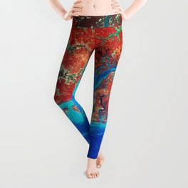Guinea-Bissau a small country in West Africa Leggings