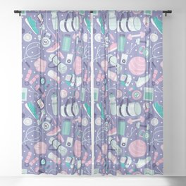 Get Fit Sheer Curtain
