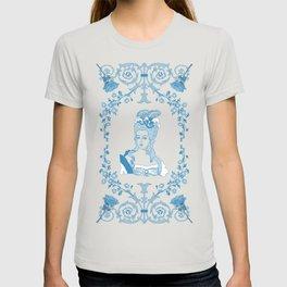 Marie-Antoinette Monogram (Aqua) T-shirt