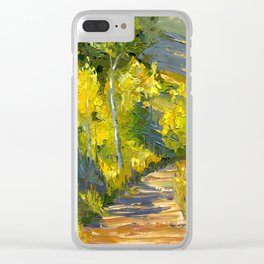 Golden Gates Clear iPhone Case