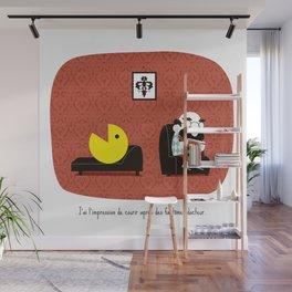 fantômes / Dr Rorschach Wall Mural
