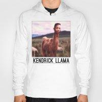 kendrick lamar Hoodies featuring Kendrick Llama by Creatmaker