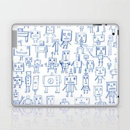 Robot Crowd Laptop & iPad Skin