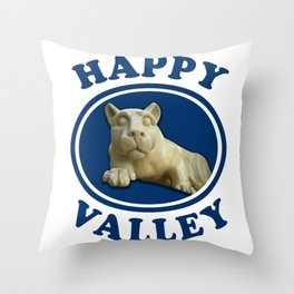 Happy Valley Penn State Nittany Lion Gifts Throw Pillow