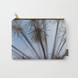 Dried Wildflower Paris Carry-All Pouch
