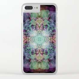 in the strobe light Clear iPhone Case